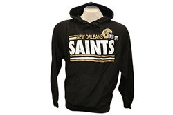G-III Sports NFL New Orleans Saints Hoodie Logo - Black - SIze: Large