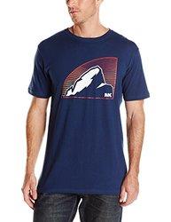Mountain Khakis Men's Topo Peak Short Sleeve T-Shirt - Nautical - Size: S