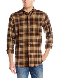 Arrow Men's Long Sleeve Saranac Flannel - Forest Night - Size: 2X-Large