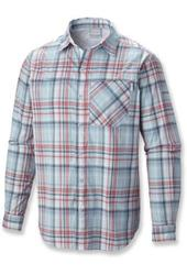 Columbia Men's Insect Blocker Plaid Long Sleeve Shirt - Sunset Red - Small