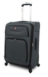 """Swissgear Spinner Luggage: 24"""" - Grey"""