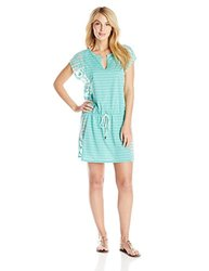 LOLE Women's Salsa Dress - Turquoise - Size: Medium