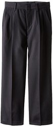Dockers Big Boys' Poly Dress Pant - Black - Size: 10