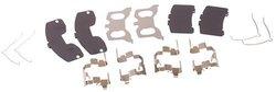 Beck Arnley  084-1329  Disc Brake Hardware Kit With Shims
