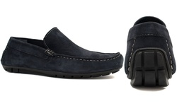 Joseph Abboud Men's Yacht Shoes - Navy - Size: 9.5
