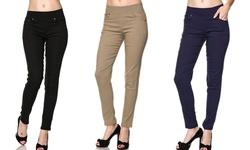 Women's Plus-Size Five-Pocket Jeggings - 3-Pack - Size: 2X/3X