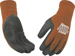 Kinco Frostbreaker Foam Latex Gripping Work Gloves - Brown - Size: L
