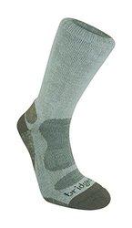 Bridgedale Men's Bamboo Crew Socks - Natural Eucalyptus - Size: Large