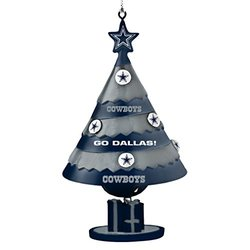 NFL Dallas Cowboys Tree Bell Ornament
