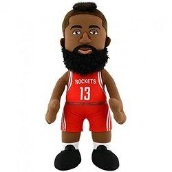 "Bleacher Creatures 10"" NBA Houston Rockets James Harden Plush Figure - Red"