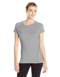 ASICS? Heathered Short Sleeve T-Shirt 1 - Women's Heather Grey