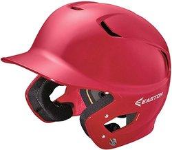 Easton Z5 Solid Senior Batting Helmet Red