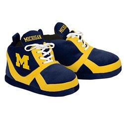 NCAA Michigan Wolverines 2015 Sneaker Slipper - Blue - Size: Medium
