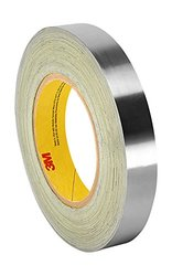 """TapeCase 1.375""""x36yd Silver Acrylic Damping Foil Adhesive Tape"""