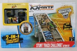 Hot Wheels  Monster Jam Side by Side Track Set 1