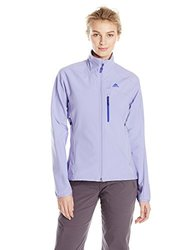 adidas outdoor Women's Terrex Swift Soft Shell Jacket, X-Small, Light Purple