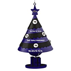 Topperscot by Boelter Brands NFL Baltimore Ravens Tree Bell Ornament