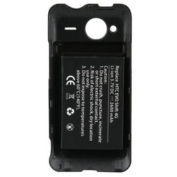 Naztech Extended Battery for HTC Evo Shift 4G - 2400mAh - Battery - Retail Packaging - Black