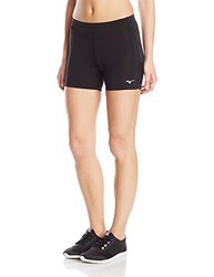 Mizuno Running Women's Featherweight Short Tight - Black - Size: XS