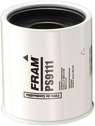 Fram Automotive Heavy Duty Spinon Fuel and Water Separator Filter (PS9111)