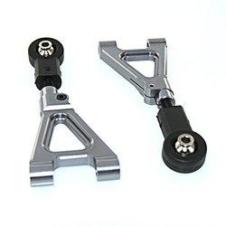 GPM Racing Alloy Rear Upper Arm Set for 1:5 HPI 5B + Other HPI Model- Grey