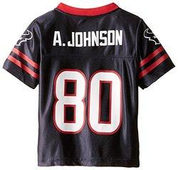 NFL Houston Texans Toddler Team Replica Jersey - Deep Obsidian -Size: 3T