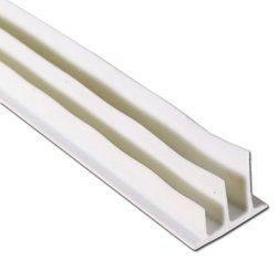 "3/8X17""L 3 FIN ADHESIVE SMOKE SEAL white"