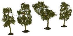"BACHMANN 32109 SS 2 1/2-2 3/4"" Sycamore Trees (4) N"