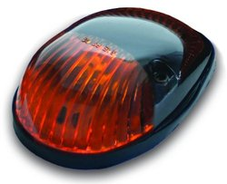 Pacer Performance 20-253AS Hi-Five Amber Chevy Style Single Cab Roof LED Side-Light