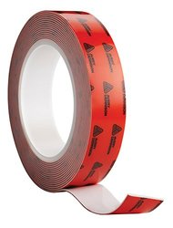 Avery Dennison AFB 6164W Double Sided Acrylic Foam Tape, White, 108 ft x 1.0 in, 25.2 mils Thick