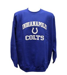 G-III Sports NFL Indianapolis Colts Crew Neck Sweatshirt - Royal - Size:XL