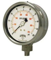 Winters PFP Series Stainless Steel 304 Dual Scale Pressure Gauge