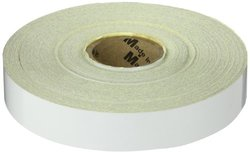 "Mutual 17786 Engineering Grade Retro Reflective Adhesive Tape, 50 yds Length x 1"" Width, White"