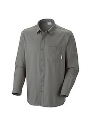 Columbia Men's Insect Blocker II Long-Sleeve Shirt - Fossil - Size: XL