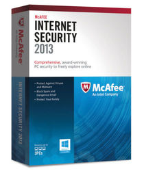McAfee Internet Security 2013 Subscription Package Series - 3PC
