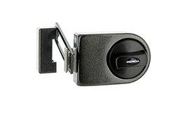 Gerda N200 Rim Lock with Door Limiter/Stop - Graphite