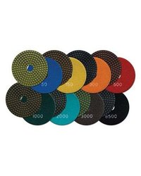 MK Diamond 155877 5-Inch 150 Grit Premium Resin Polishing Disc, Yellow