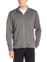 Cutter & Buck Men's Helsa Full Zip Jacket - Titan - Size: Large