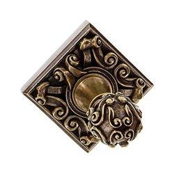 Vincenza Designs Sforza Robe Hook - Antique Brass - Size: L