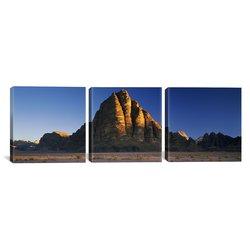 """iCanvas Art Rock Formations Landscape 3PC Canvas Art Print - Size: 36""""x12"""""""