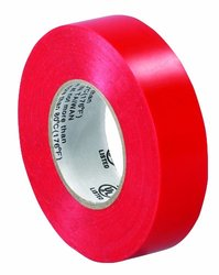 "Box Partners 3/4"" x 20 yds. Red (Pack) Electrical Tape 10"