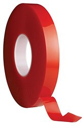 Avery Dennison AFB 6625C Double Sided Acrylic Foam Tape, Clear, 108 ft x 1.0 in, 9.8 mils Thick