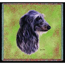 "Pure Country 54x54"" Scottish Deerhound Small Blanket - Multi"