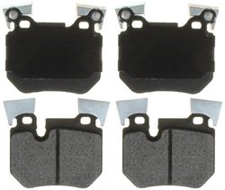 Raybestos PGD1372M Professional Grade Semi-Metallic Disc Brake Pad Set