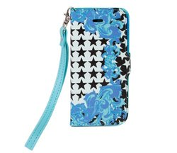 Chic Buds Onesie iPhone 5 Wristlet Wallet Carrying Case - Donatella