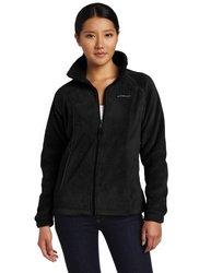 Columbia Women's Benton Springs Full Zip Fleece Jacket - Black - Size: XL
