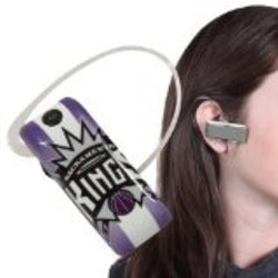 Earloomz SL-441 Sacramento Kings - Bluetooth Headset - Retail Packaging - Blue/Silver