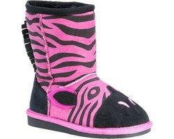 Muk Luks Zoo Babies Kids Boots - Ziggy Zebra - Size: 12