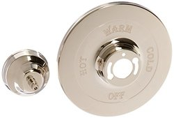 Rohl ZZ9312502B-PN AC100 Escutcheon Faceplate without Diverter Hole & Bell Housing with Spindle to Pressure Balance (No Lever Packaged, Box), Polished Nickel