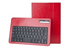"""Next Success Keyboard/Cover Case For 8"""" Tablet - - Synthetic Leather red"""